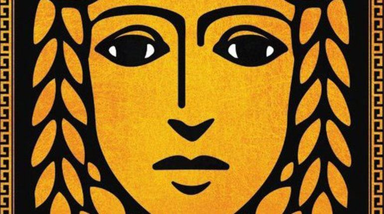 Cover image from Circe by Madeline Miller shows a painting of a woman's face.