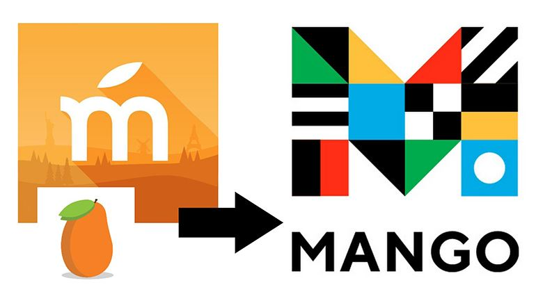 Image of previous and current Mango Languages logo.