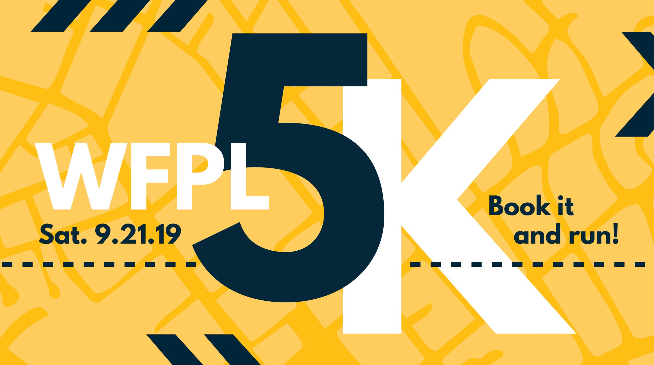 WFPL is holding the 6th Annual Book It and Run 5K on Sat. September 21, 2019.
