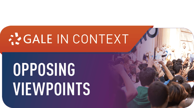 Opposing Viewpoints: Topic overviews, opinion pieces, multimedia, and citation tools for a variety o