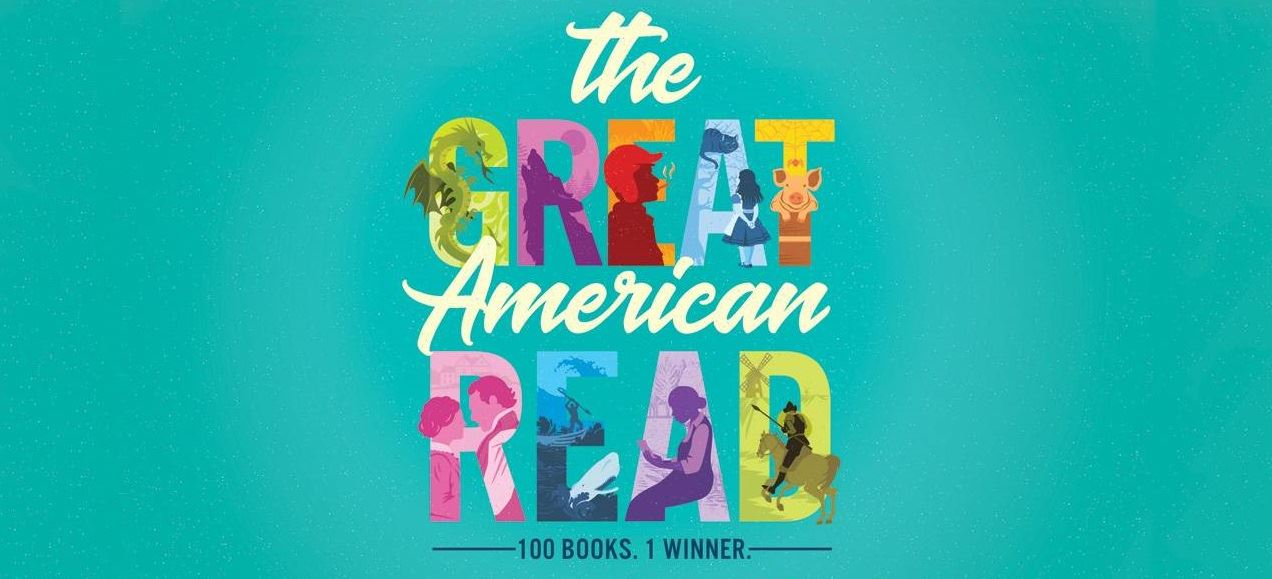 Text reading 'The Great American Read'