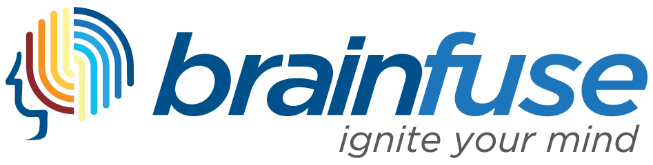 "Brainfuse Logo with text ""Ignite your mind"" Opens in new window"