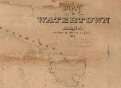 Maps | Watertown Library, MA